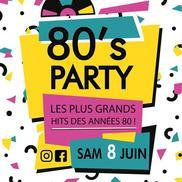 80's party à l'Alibi