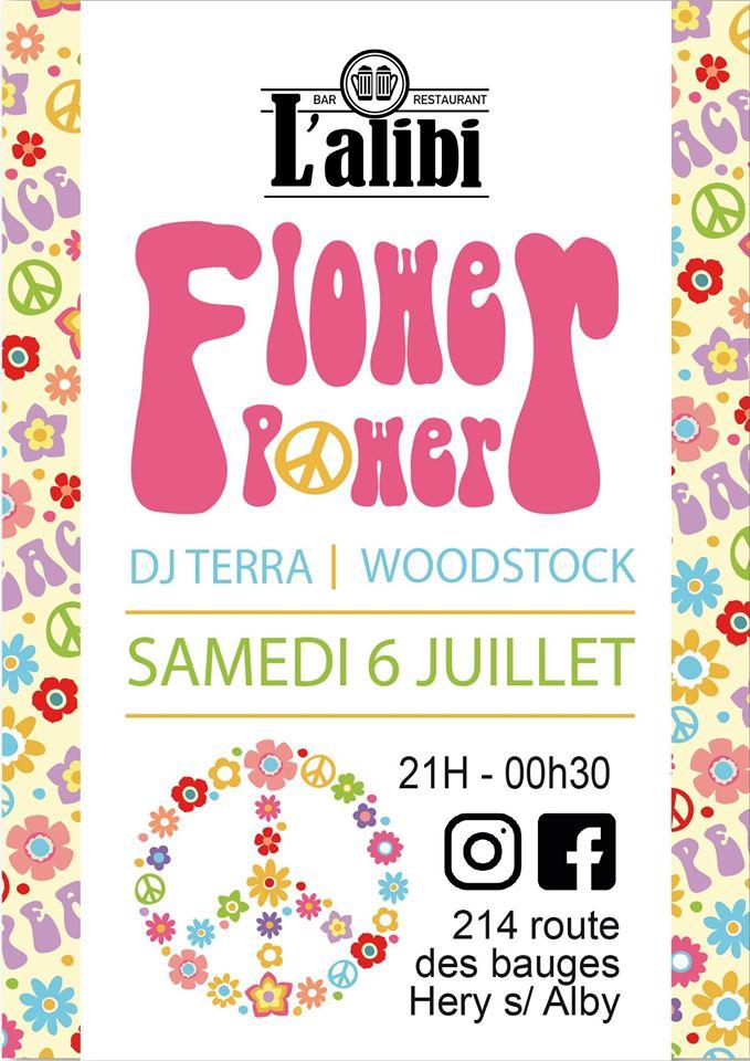 Flower Power Bar Alibi
