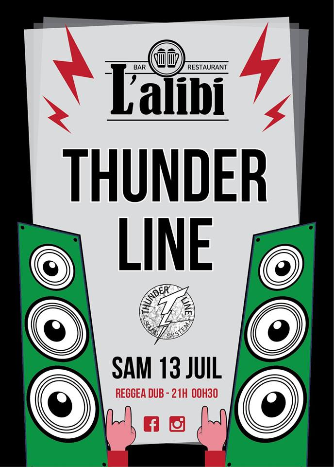 Thunder Line bar l'Alibi