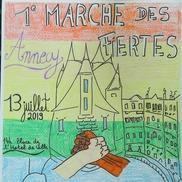 Marche des fiertés à Annecy