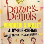 Concerts d'été à Alby : Bazar & Bémols