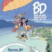 BD sur le lac, 1er Festival de BD à Aix-les-Bains