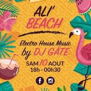 Ali'Beach : soirée électro house