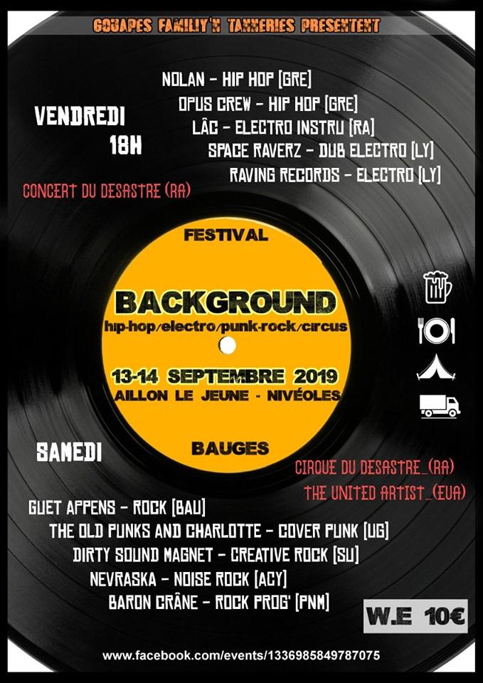 Background Festival Aillon le Jeune