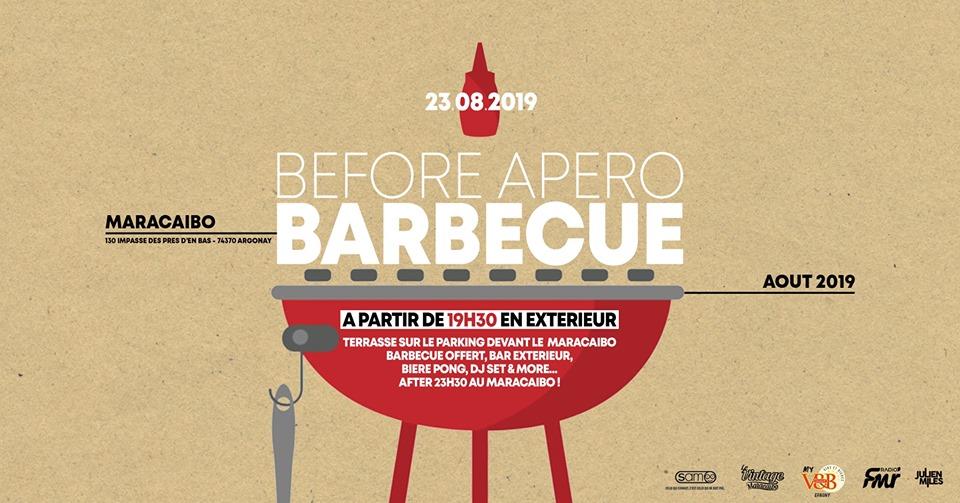 Apéro barbecue geant Maracaïbo