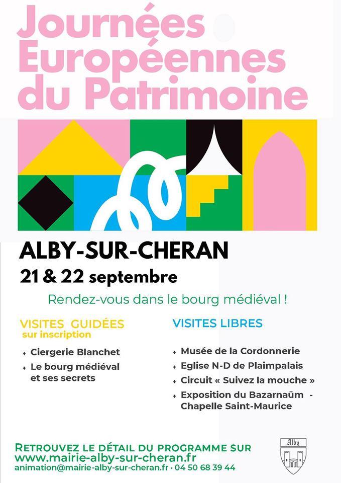 Journées patrimoine Alby sur Chéran
