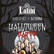 Soirée Halloween à l'Alibi