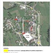 Nouveau plan de circulation à Marcellaz Albanais