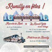 Marché de Noël et Rumill'yette