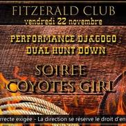 Soirée Coyotes girls au Fitzgerald