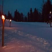 Trail sur Neige la Fée Blanche aux Aillons Margeriaz