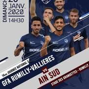 Foot : G.F.A Rumilly Vallières reçoit Ain Sud