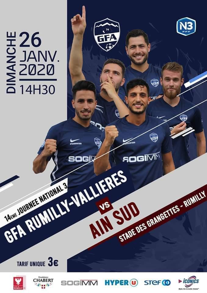 Match GFA Rumilly - Ain