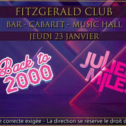 Back to 2000 by Julien Miles au Fitzgerald