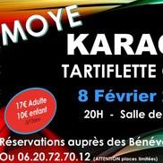 Tartiflette et Karaoke à Moye