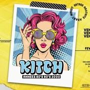 Soirée Kitch 80's 90's 2000 au Maracaïbo