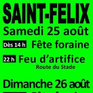 Brocante et fête foraine à St Félix