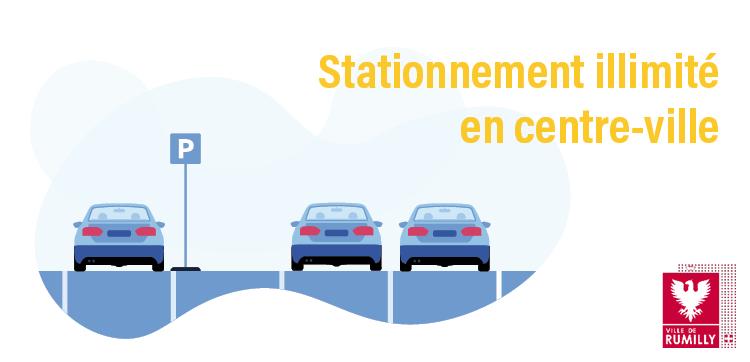 Stationnement zone bleue Rumilly