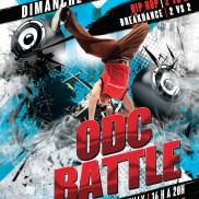 ODC Battle à la salle des fêtes de Rumilly.