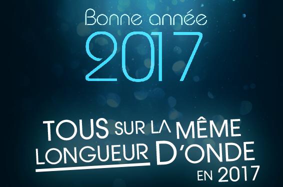 Bonne Année 2017 sur Radio FMR
