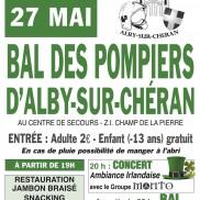 Alby-Sur-Chéran : Bal des Sapeurs Pompiers.