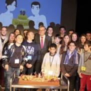 Bon anniversaire au Conseil municipal des jeunes de Rumilly !