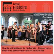 Les chants traditionnels de l'Albanais et de la Savoie
