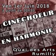 Cinechoeur en Harmonie au Quai des Arts