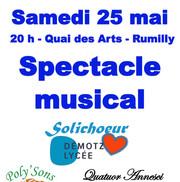 Concert Poly'sons et Quatuor Annesci au Quai des Arts