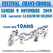 Concert de chorales à La Balme de Sillingy