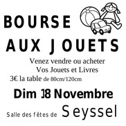 Bourse aux jouets à Seyssel