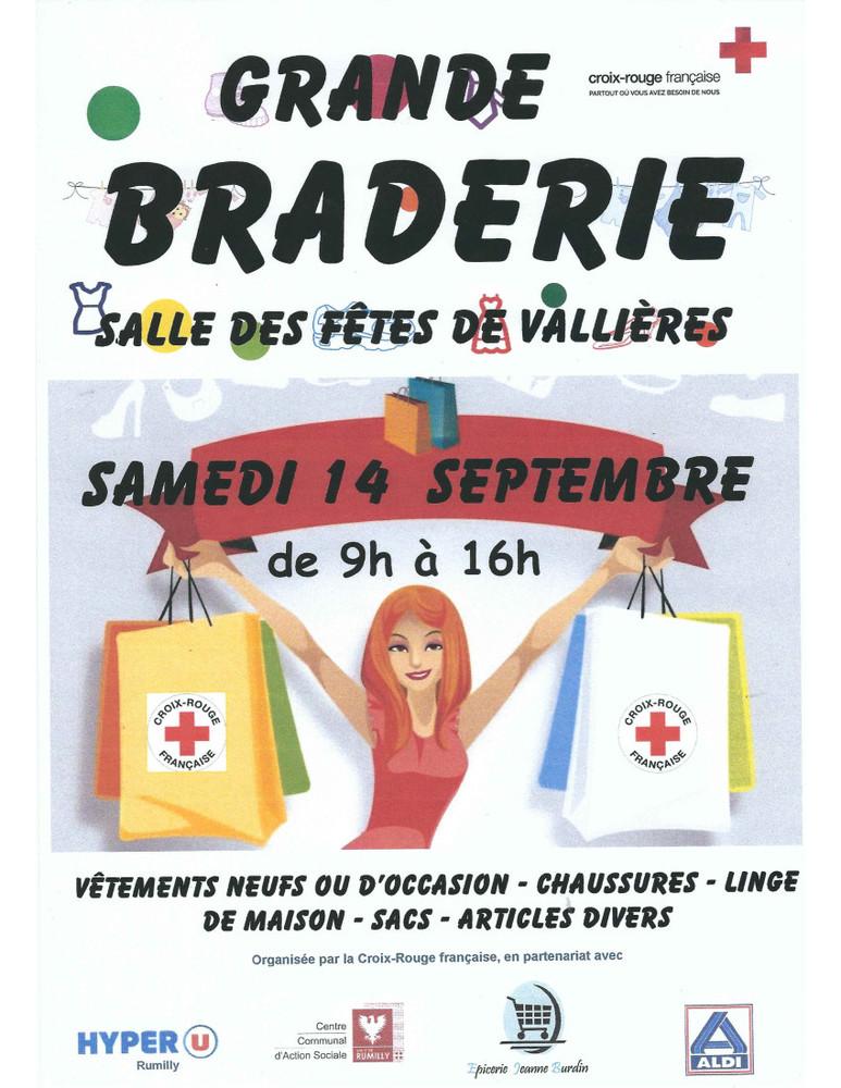 Braderie Croix Rouge Vallières