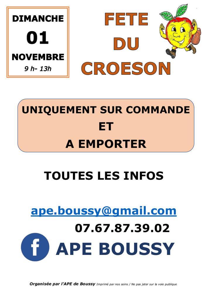 Fête Croeson Boussy