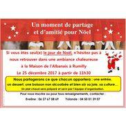 Journée de Noël pour les personnes seules à Rumilly