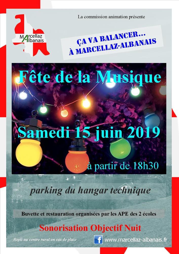 Fête de la musique Marcellaz