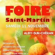 Foire de la Saint-Martin à Alby Sur Chéran