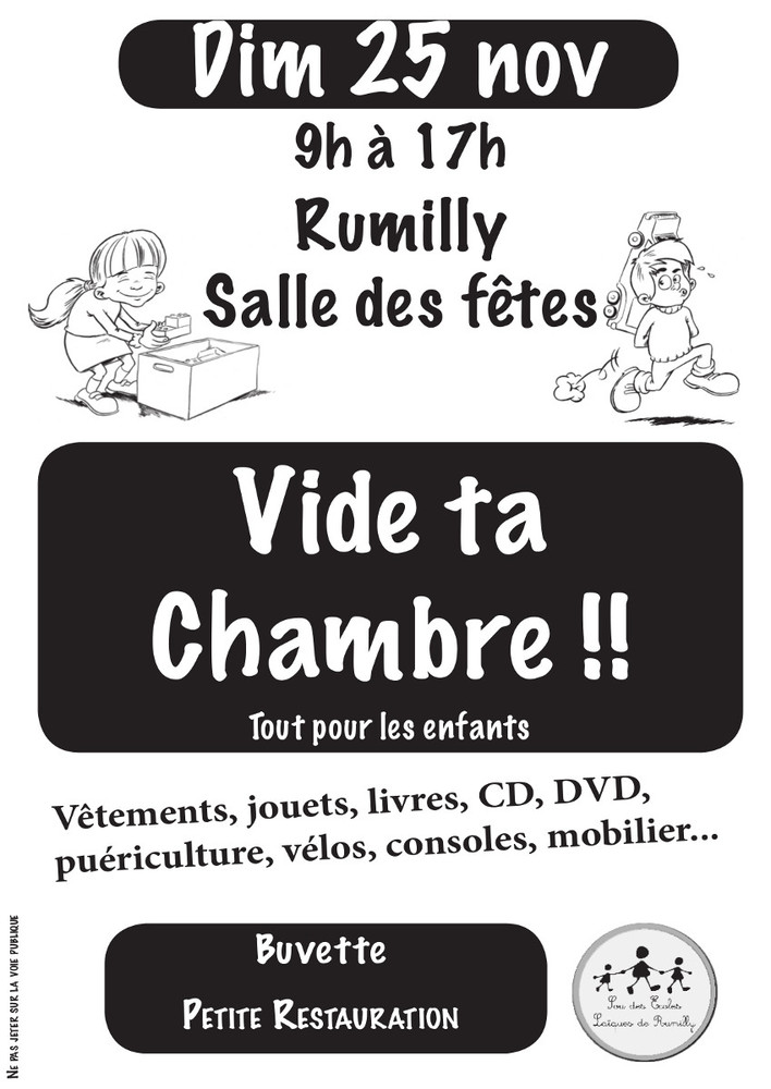 Vide ta chambre Rumilly
