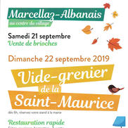 Vide grenier de la St Maurice à Marcellaz