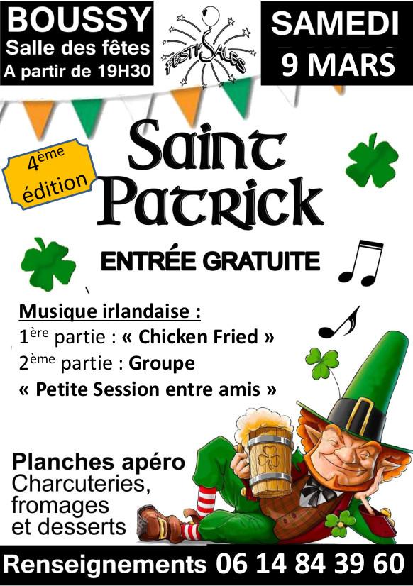 Saint Patrick Boussy