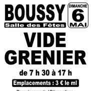 Vide grenier à Boussy