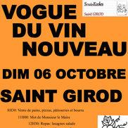 Vogue du vin nouveau de St Girod