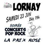 Fête de la musique et La Paix Rosé à Lornay