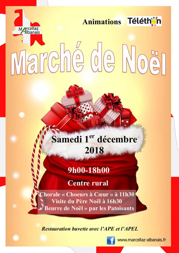Marché de Noel Marcellaz Albanais