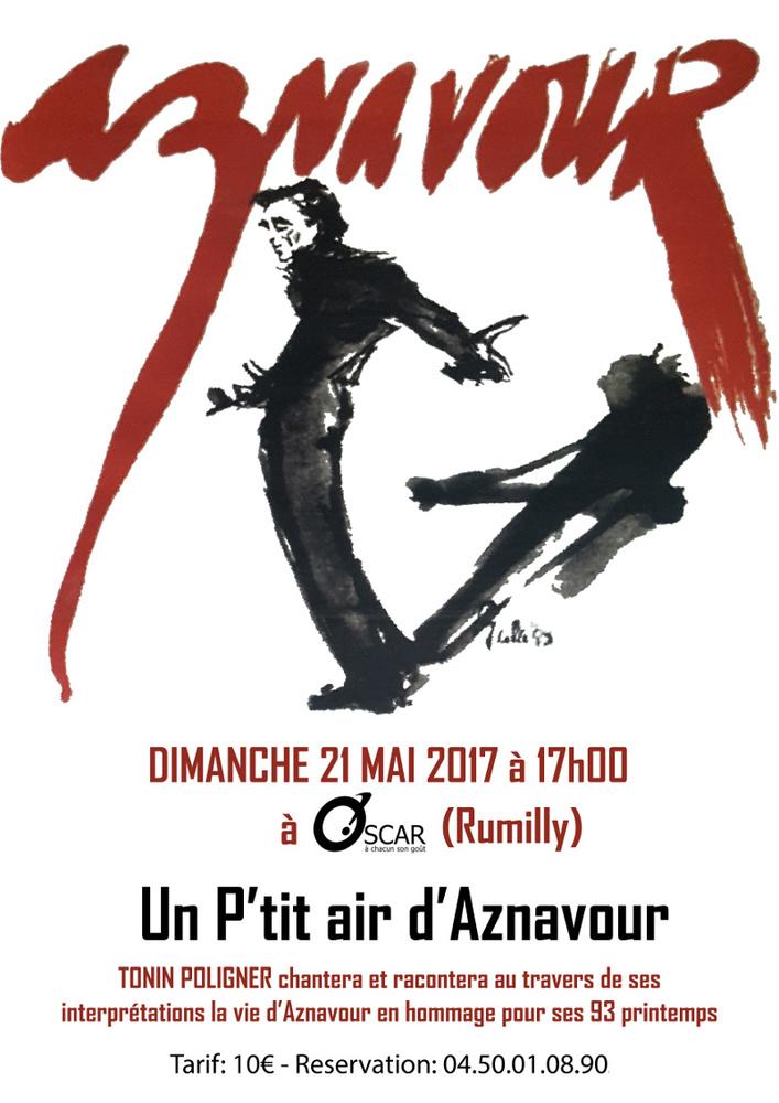 Concert Aznavour Oscar Rumilly