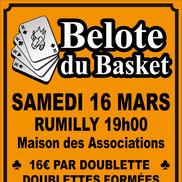 Concours de belote du basket de Rumilly