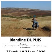 Voyage de Blandine Dupuis en vélo à travers l'Europe