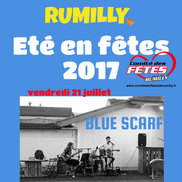 Été en fêtes à Rumilly – Concert de Blue Scarf