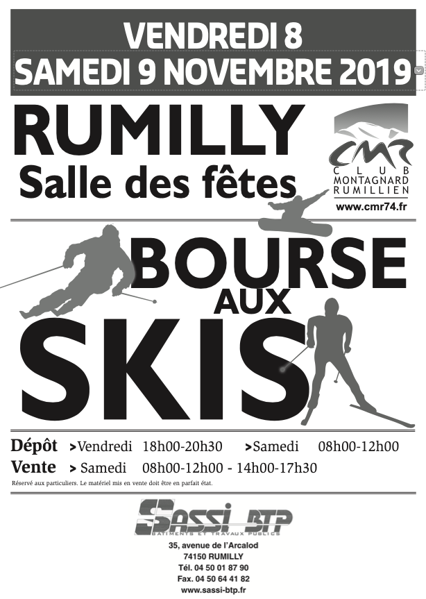 Bourse skis Rumilly