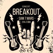 Concert avec Breakout et Arcanthe à l'Alibi