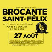 Brocante et fête foraine à Saint Félix